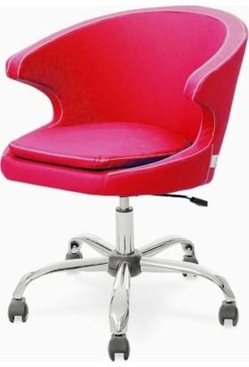 Neodesign Ofis Demre Çalışma Koltuğu Kırmızı