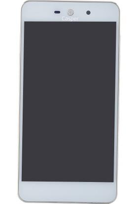 Casper Via V3 Beyaz Lcd+Dokunmatik Panel