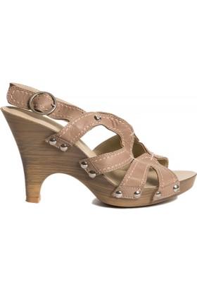 Pierre Cardin Kadın Sandalet Vizon