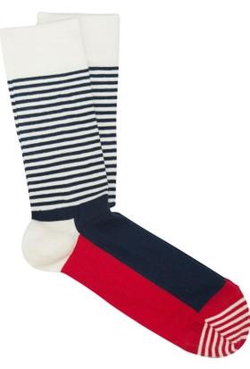 CoolMenClub Yarı Çizgili Çorap