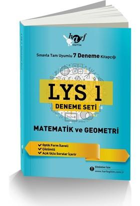 Lys 1 Deneme Seti: Sınavla Tam Uyumlu 7 Deneme Kitapçığı: Matematik Ve Geometri