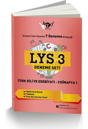 Lys 3 Deneme Seti Sınavla Tam Uyumlu 7 Deneme Kitapçığı: Türk Dili Ve Edebiyatı - Coğrafya 1