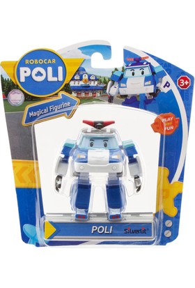 Robocar Poli Hareketli Figür Poli