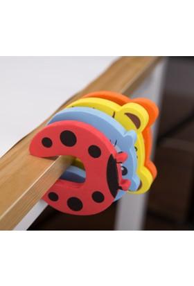 Vipfoni Çocuk Koruyucu Kapı Stoperi 4 Lü Set