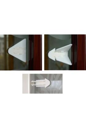 Vipfoni Raylı Kapı Çocuk Koruma Dolap Kilidi