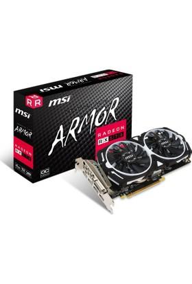 MSI AMD Radeon RX 570 ARMOR 4G OC 4GB 256 bit GDDR5 DX(12) PCI-E 3.0 Ekran Kartı (RX 570 ARMOR 4G OC)