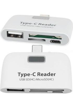 Markacase Type-C Card Reader Kart Okuyucu Usb 3.1