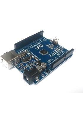 Robotekno Arduino UNO R3 Yeni Versiyon Set + Jumper + USB Kablo + Pin