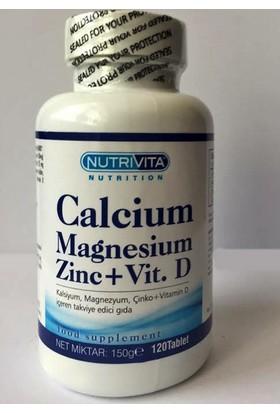 Nutrivita Nutrition Calcium Mağnesium Zinc Vitamin D