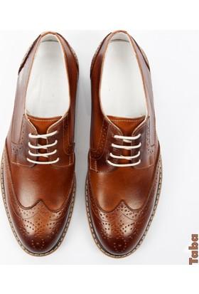 Deepsea Taba Deri Erkek Ayakkabı 1701007-057