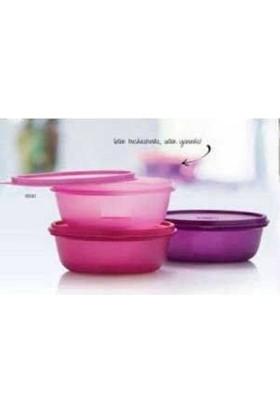 Tupperware Üç Şekerpare Mor Renk