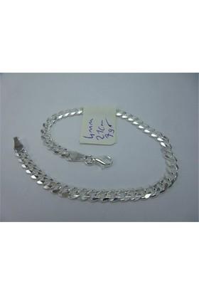 Osmanlı Gümüş Gurmet Gümüş Erkek Bileklik İnce Ve Şık 7Gr