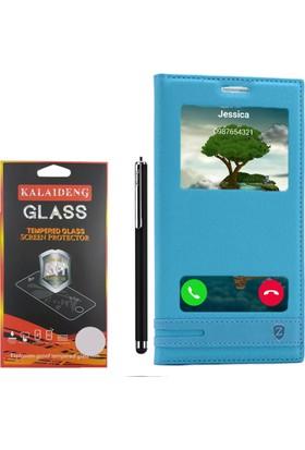 Gpack Huawei Honor 5c Gt3 Kılıf Gizli Mıknatıslı Elite +Kalem +Cam