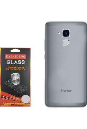 Gpack Huawei Honor 5c Gt3 Kılıf 02mm Silikon Case + Cam