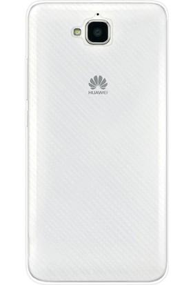 Gpack Huawei Y6 2 Pro Kılıf 02mm Silikon Case