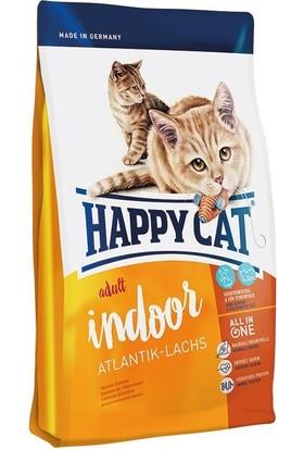Happy Cat Indoor Somonlu Evde Yaşayan Yetişkin Kedi Maması 4 Kg