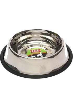 Flip Ke-3204 Çelik Kedi Köpek Mama Kabı 24 Oz. (700Ml)