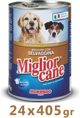 Miglior Cane Av Hayvanlı Köpek Konservesi 405 Gr (24 Adet)