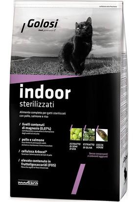 Golosi Cat Indoor Somonlu Kısırlaştırılmış Yetişkin Kedi Mamasi 7.5 Kg