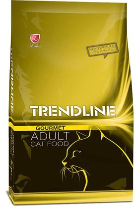 Trendline Gourmet Renkli Karışık Yetişkin Kedi Maması 1 Kg