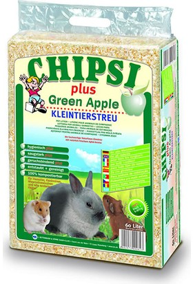 Chipsi Plus Elma Aromalı Kemirgen Talaşı 60 Lt