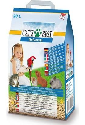 Cats Best Universal Bitkisel Kuş Kemirgen Ve Kedi Kumu 20 Lt (11 Kg)