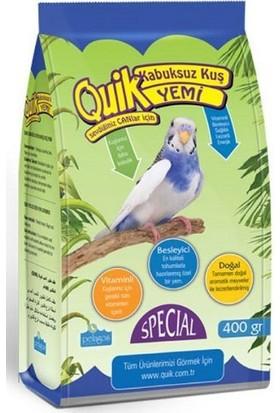 Quik Kabuksuz Muhabbet Kuşu Yemi 400 Gr