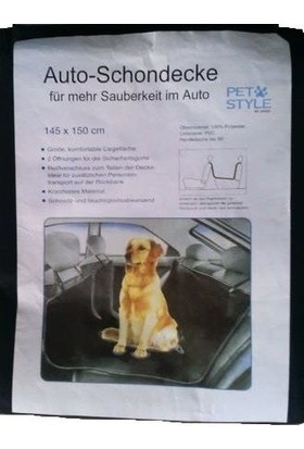 Pet Style Araç Koltuk Koruyucu Örtü 145 X 150 Cm