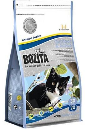 Bozita Outdoor&Active İsveç Tavuk Ve Geyik Etli Yetişkin Kedi Maması 400 Gr