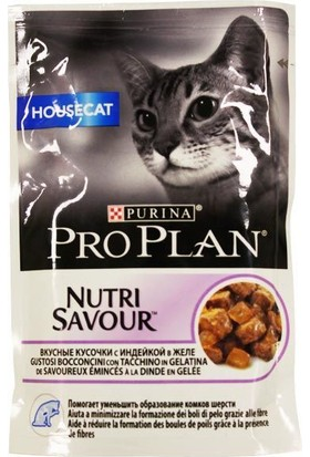 Proplan Housecat Hindi Etli Pouch Kedi Konservesi 85 Gr