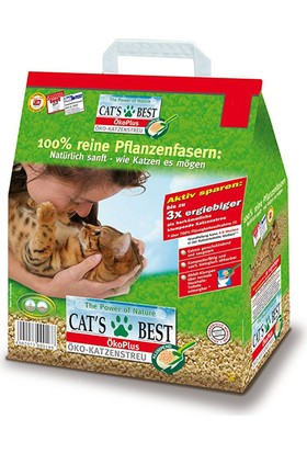 Cats Best Öko Plus Okaliptuslu Kedi Kumu 10 Lt (4,3 Kg)