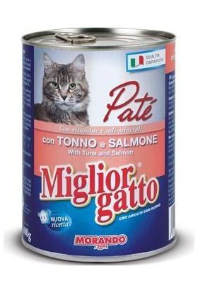 Miglior Gatto Somonlu Ton Balikli Pate Kedi Konservesi 400 Gr