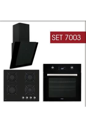 Mekappa Ankastre Set 7003