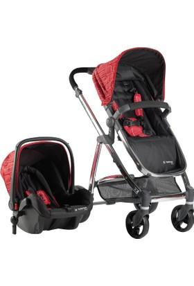 Hattrick Baby Bco Bts 709 Bebek Arabası+Koltuk Set