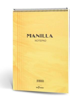 Manila Notepad 15x21 70 Yp Kareli Sarı