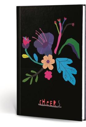 Floral 17x24 Kareli Ciltli 120yp Chcers