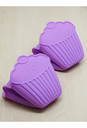 Kitchen Love 2 Adet Silikon Cupcake Model Tutacak