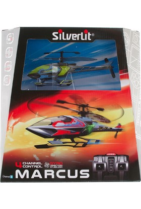 Silverlit Marcus U.K Helikopter 4Ch Gyro Yeşil