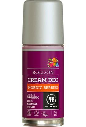 Urtekram Organik Krem Deodorant - kuzey meyveleri roll-on 50 ml.