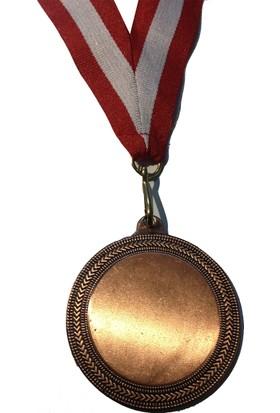 Beyazyıldızlar Süblimasyon Bronz Madalya 10 Adet (Kurdela Ve Baskı Metali Dahil)