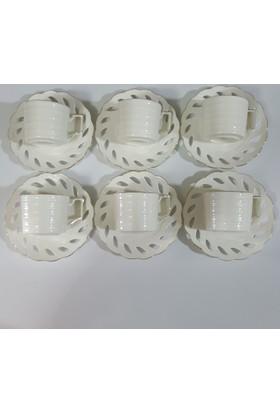 Remetta 12 Parça Bone Porselen Fincan Takımı
