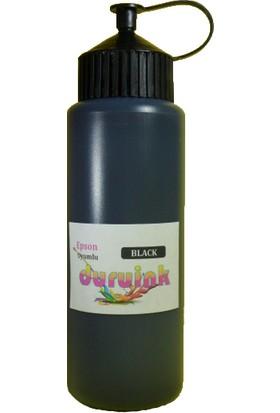 Duruink Epson L130 L110 L100 Uyumlu Claria Siyah Dolum Mürekkep 500 Ml - 0, 5 Litre