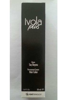 Ivola Plus Saç Boyası 6.34 Koyu Kumral Kızıl Bakır 50 Ml
