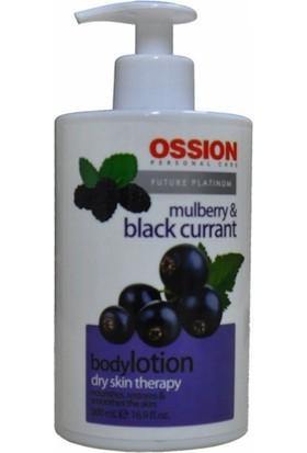 Ossion El-Vücut Losyonu Kara Dut&Siyah Üzüm 500 Ml