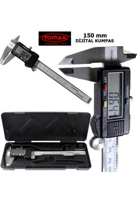Tomax Digital Kumpas 150 Mm