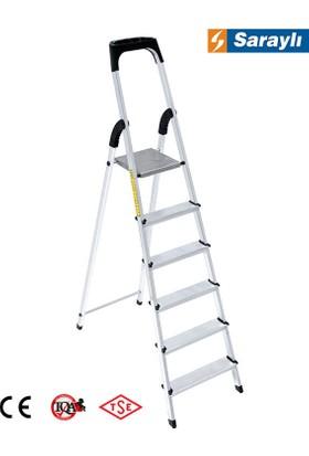 Saraylı Alüminyum Merdiven 5+1 6'lı