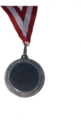 Beyazyıldızlar Süblimasyon Gümüş Madalya 10 Adet (Kurdela Ve Baskı Metali Dahil)