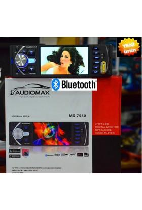 Audiomax Mx 7550 Usb/Micro Sd/Fm /Bluetooth 4'' Mp5 Audio & Video Player