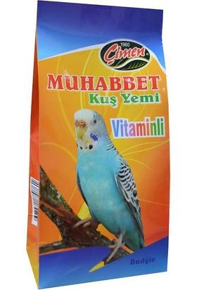 Çimen Muhabbet Kuş Yemi Karışık Vitaminli 400 Gr
