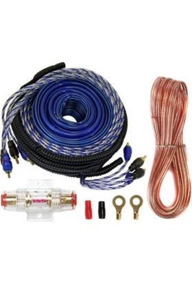 Audiomax Kit 8 Kablo Seti